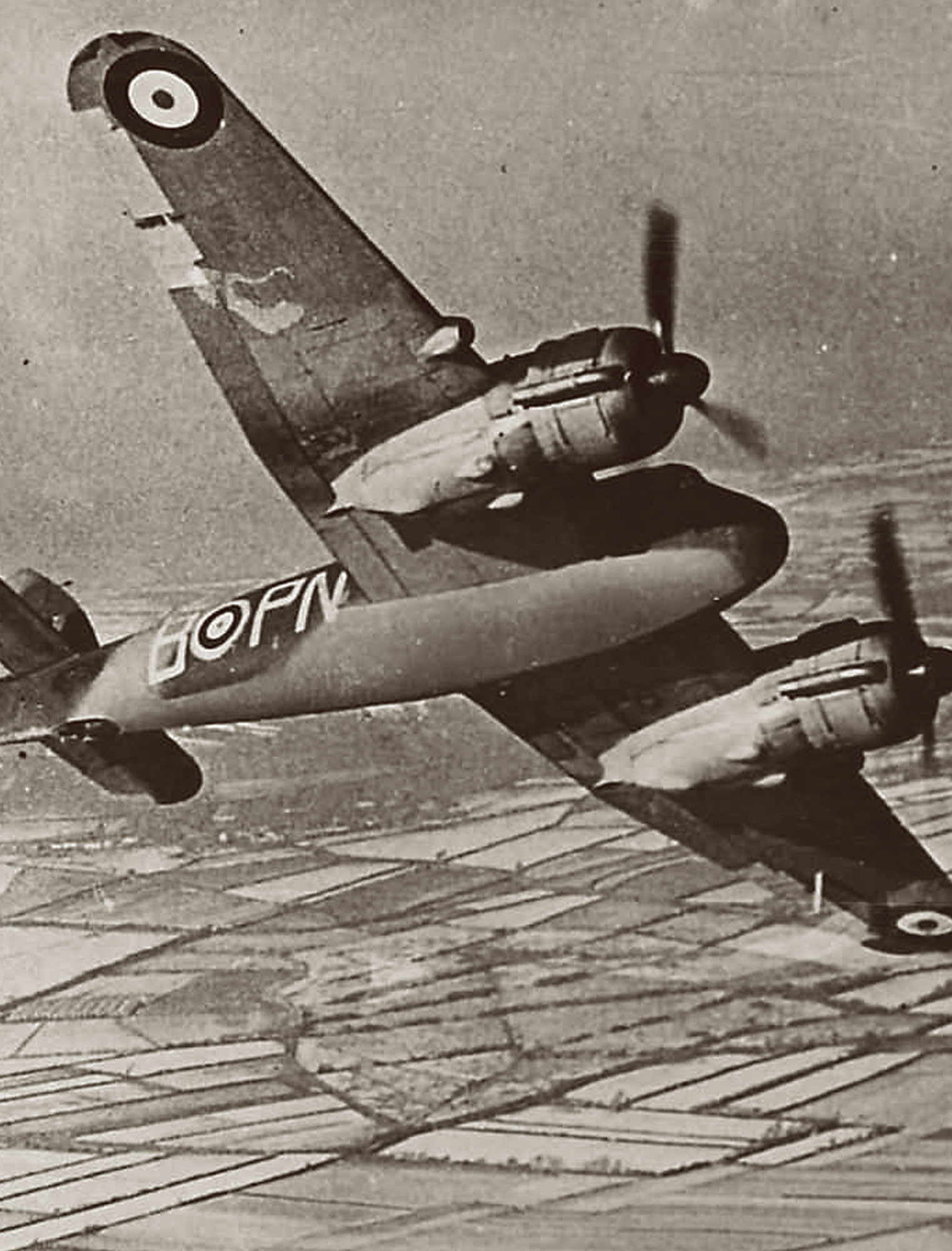 BRISTOL BEAUFIGHTER LEFT & RIGHT BEAM INDICATOR