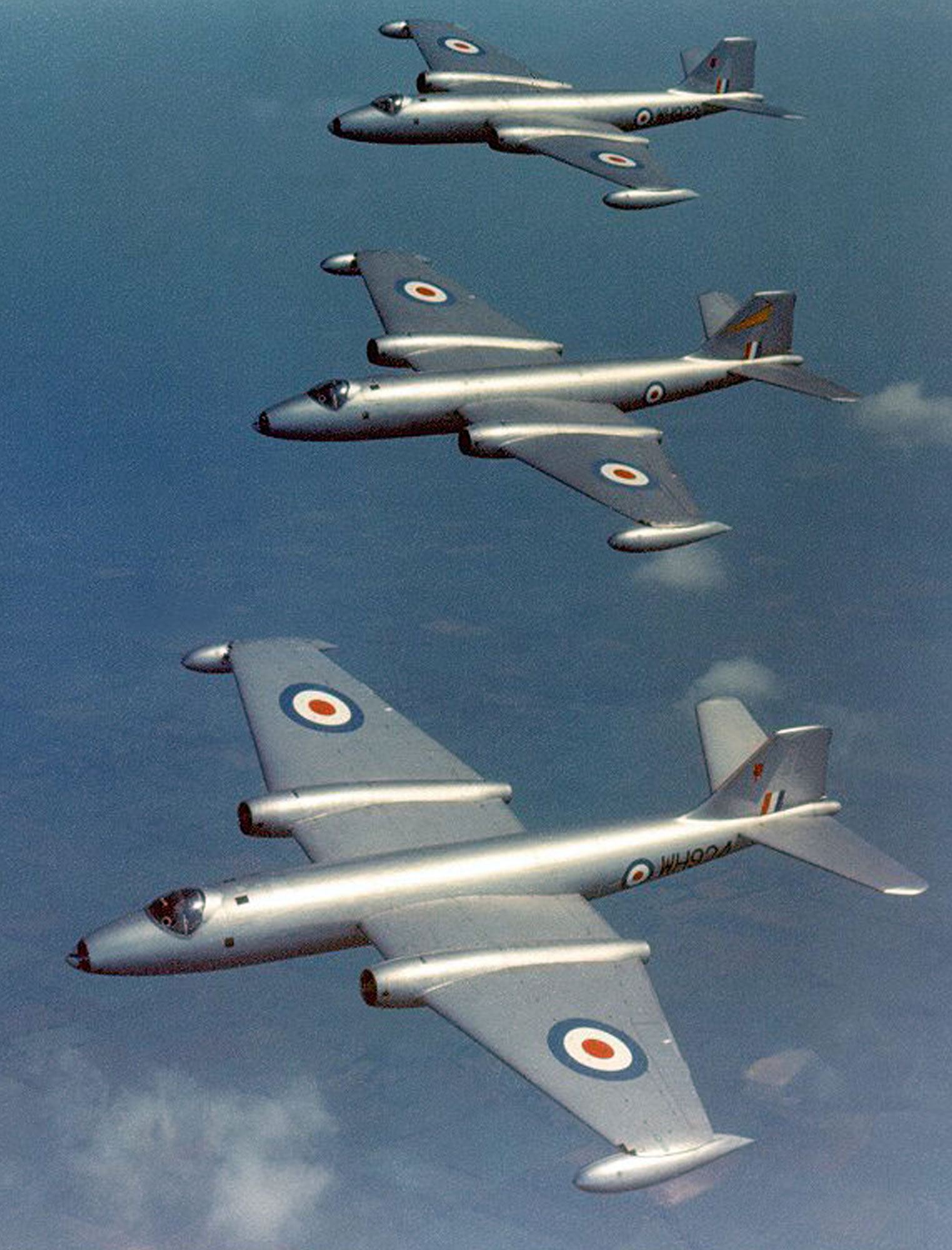 ENGLISH ELECTRIC CANBERRA BOMBER KELVIN & HUGHES Mk 3(P) RATE OF CLIMB INDICATOR