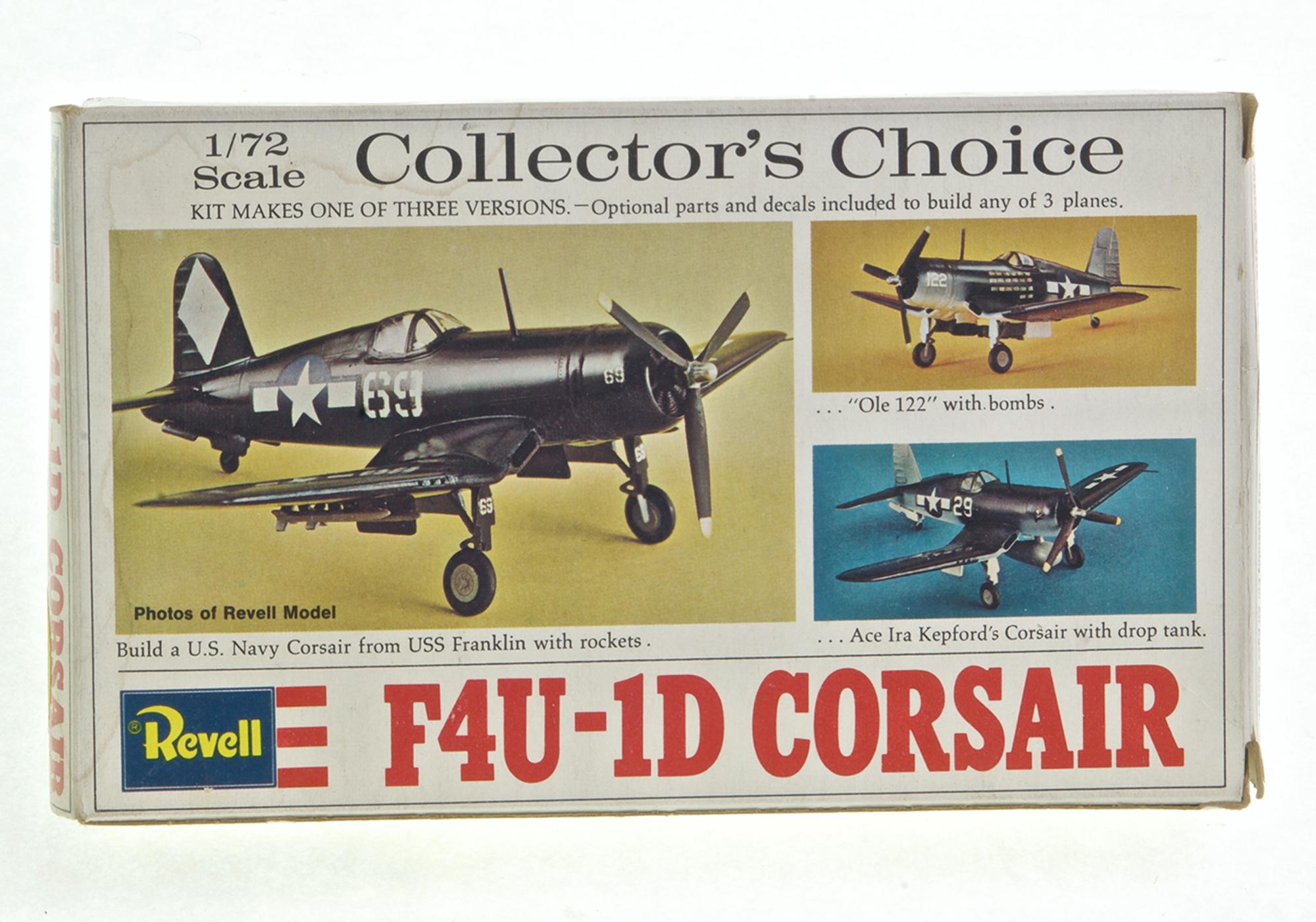 F u d corsair airfix scale recovery curios