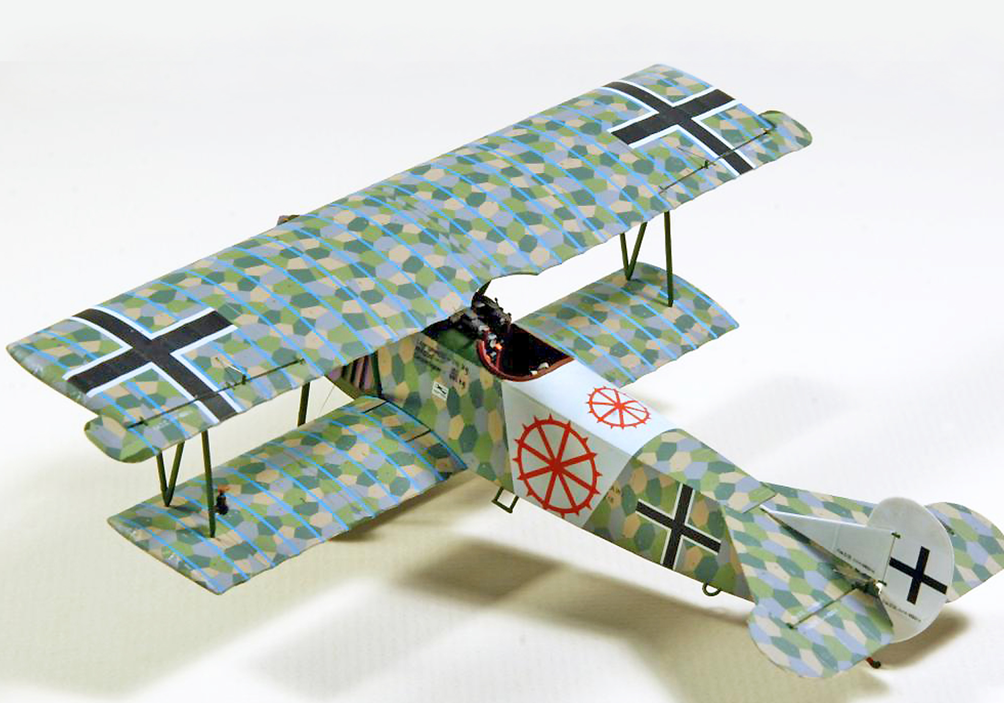 FOKKER DVII WWI FIGHTER - MONOGRAM 1/48 scale