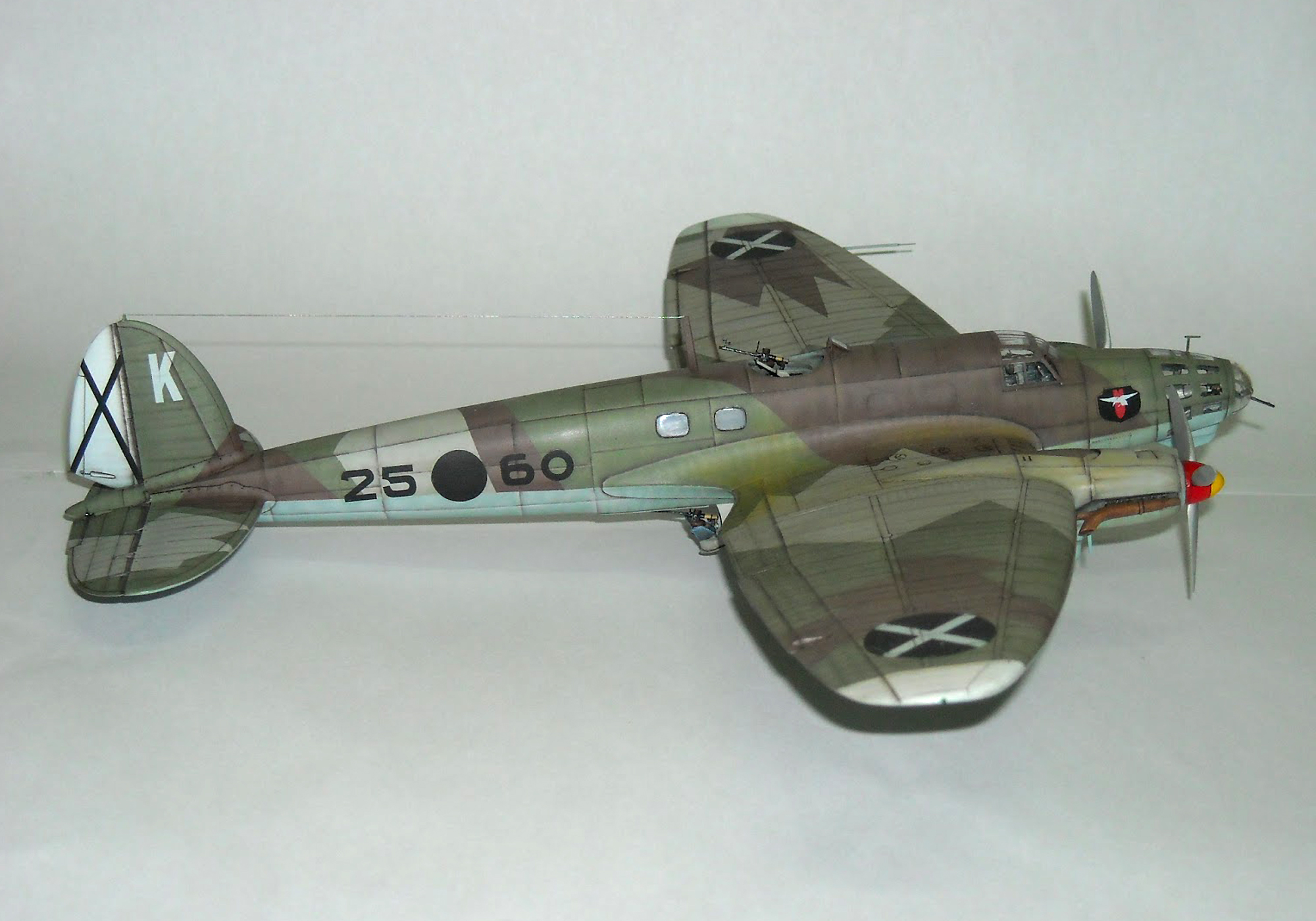 HEINKEL 111E WWII BOMBER - RODEN 1/72 scale