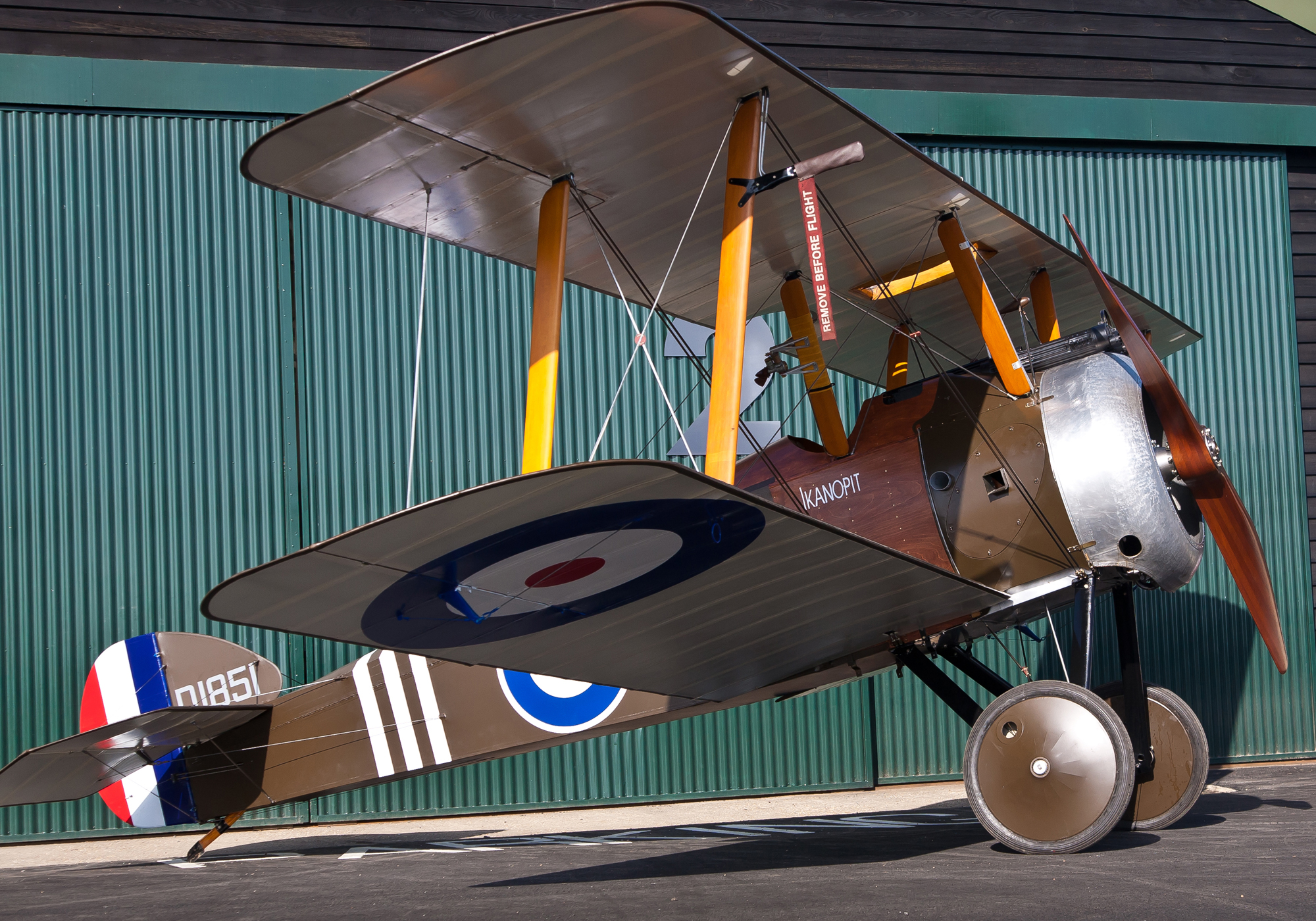SOPWITH CAMEL F-1 WWI FIGHTER - REVELL 1/72 scale