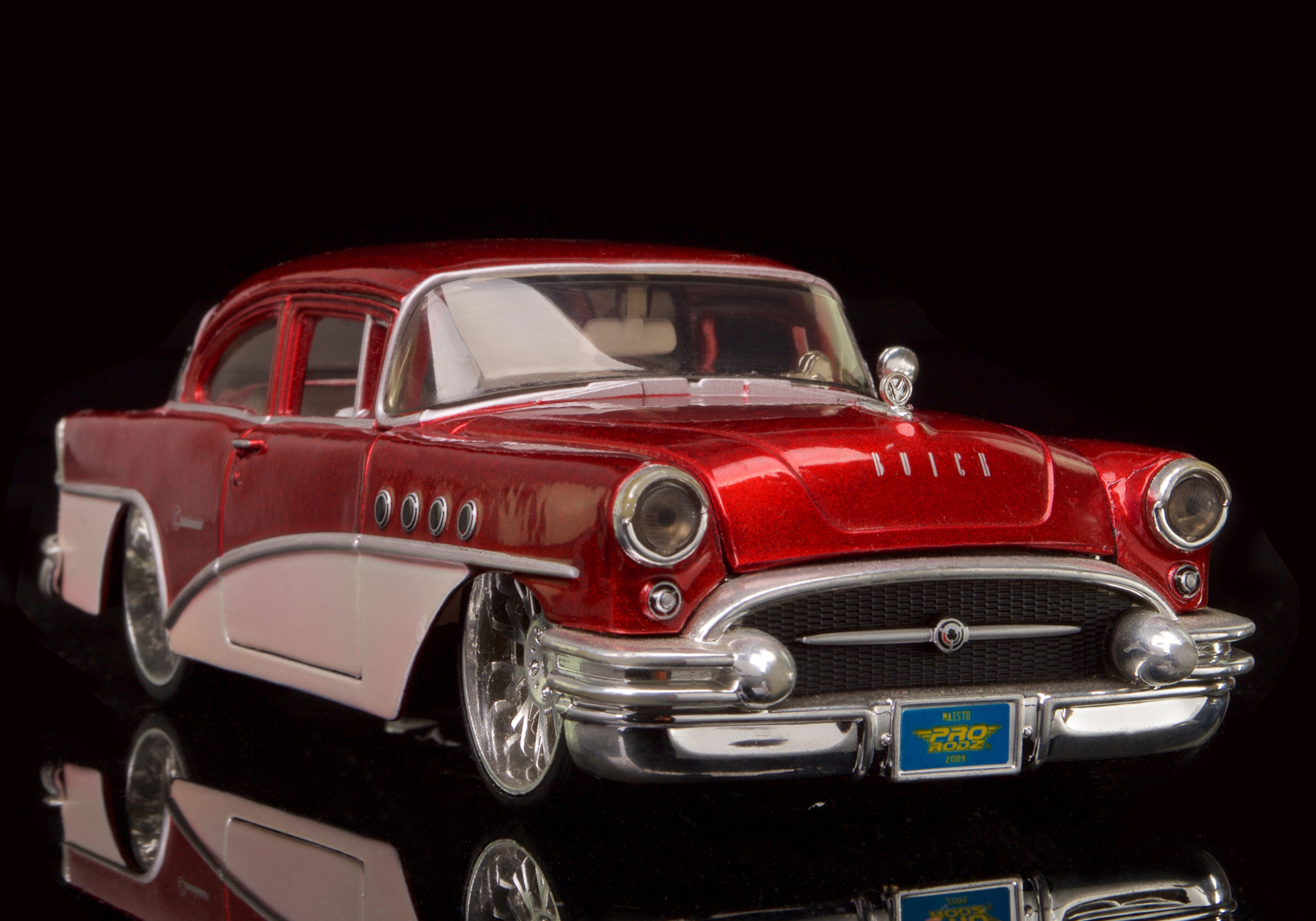 1955 BUICK CENTURY BY MAISON 1/28 SCALE DESKTOP COLLECTABLE