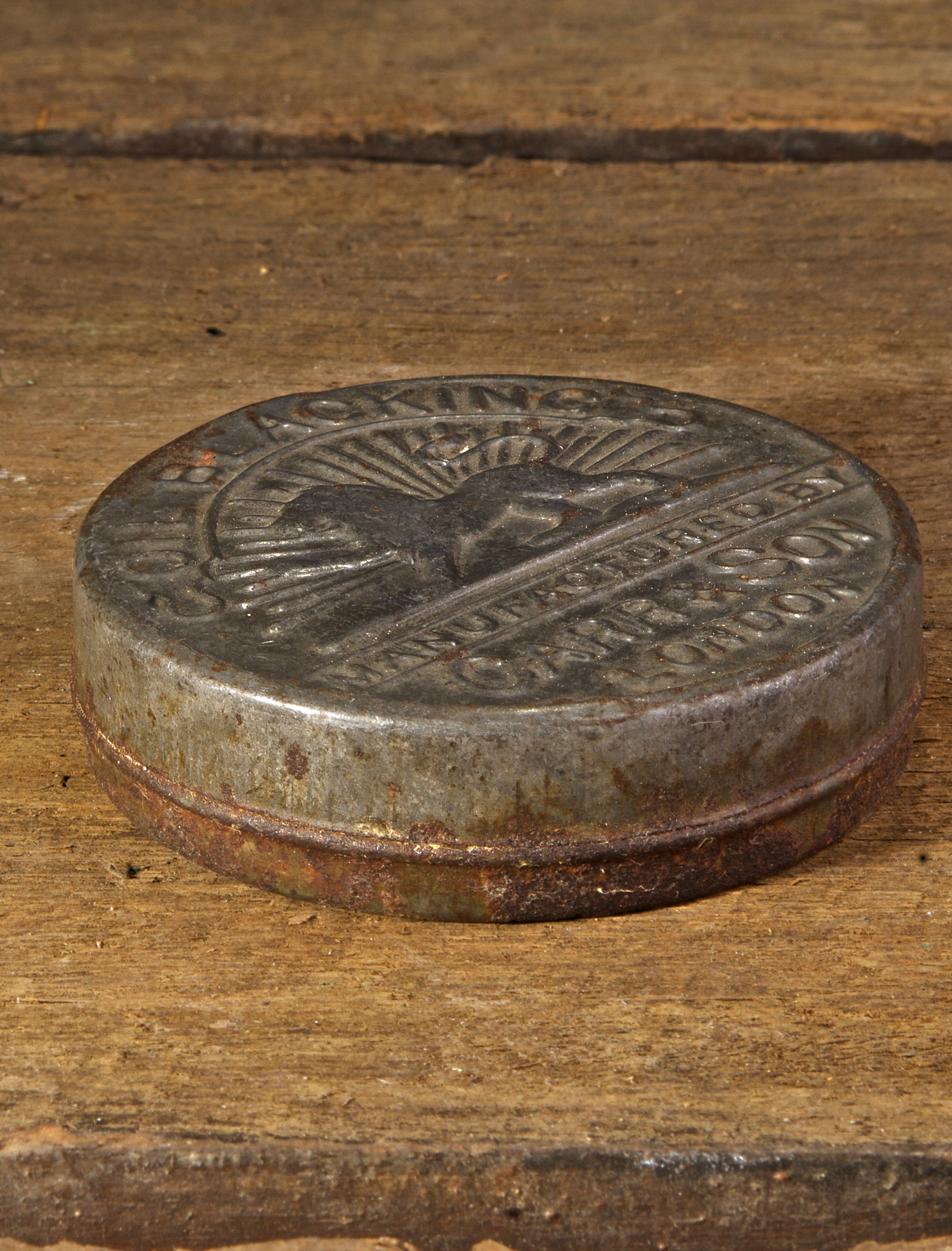 Vintage Carr & Son Oil Blacking Tin