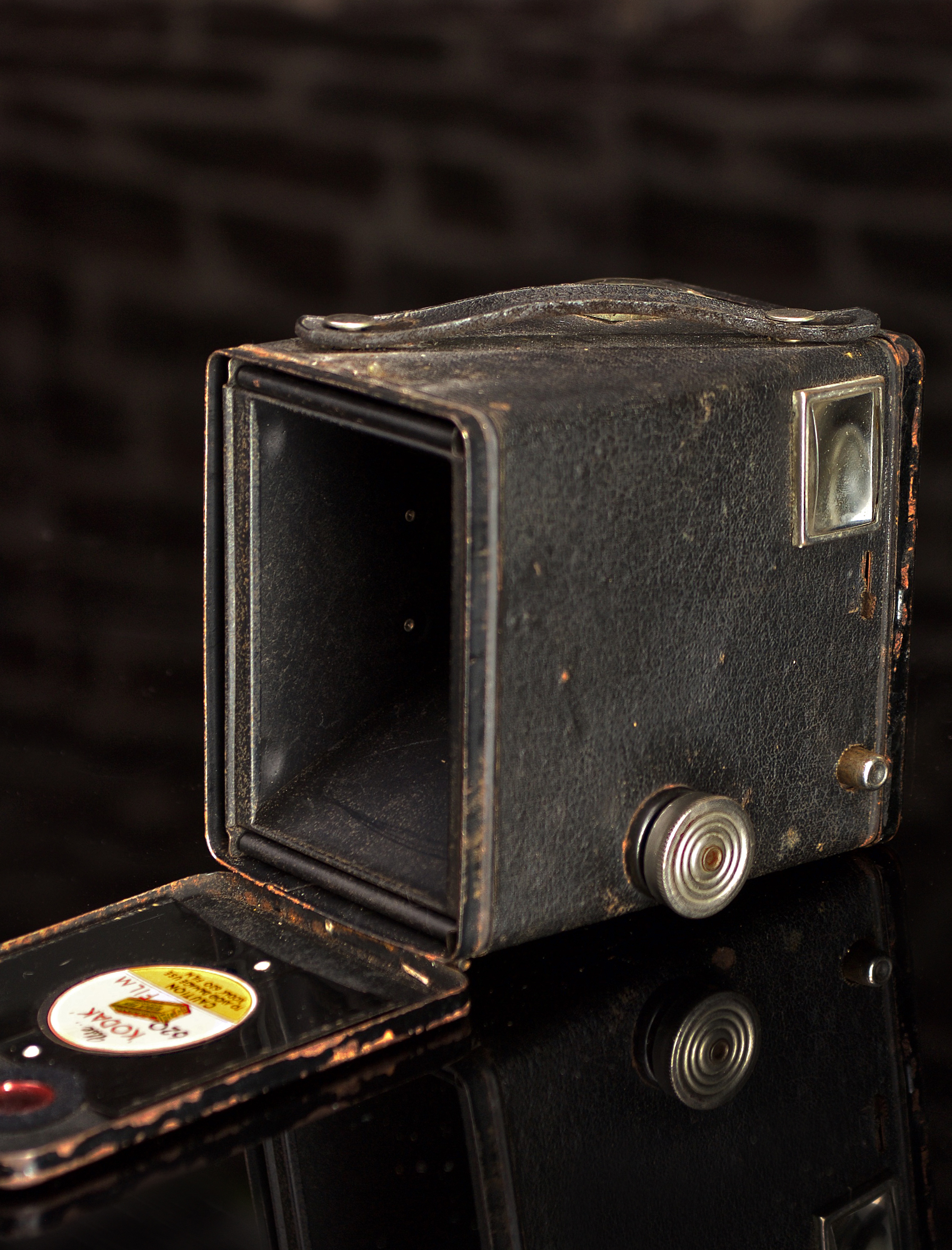 KODAK SIX-20 BOX BROWNIE MODEL C