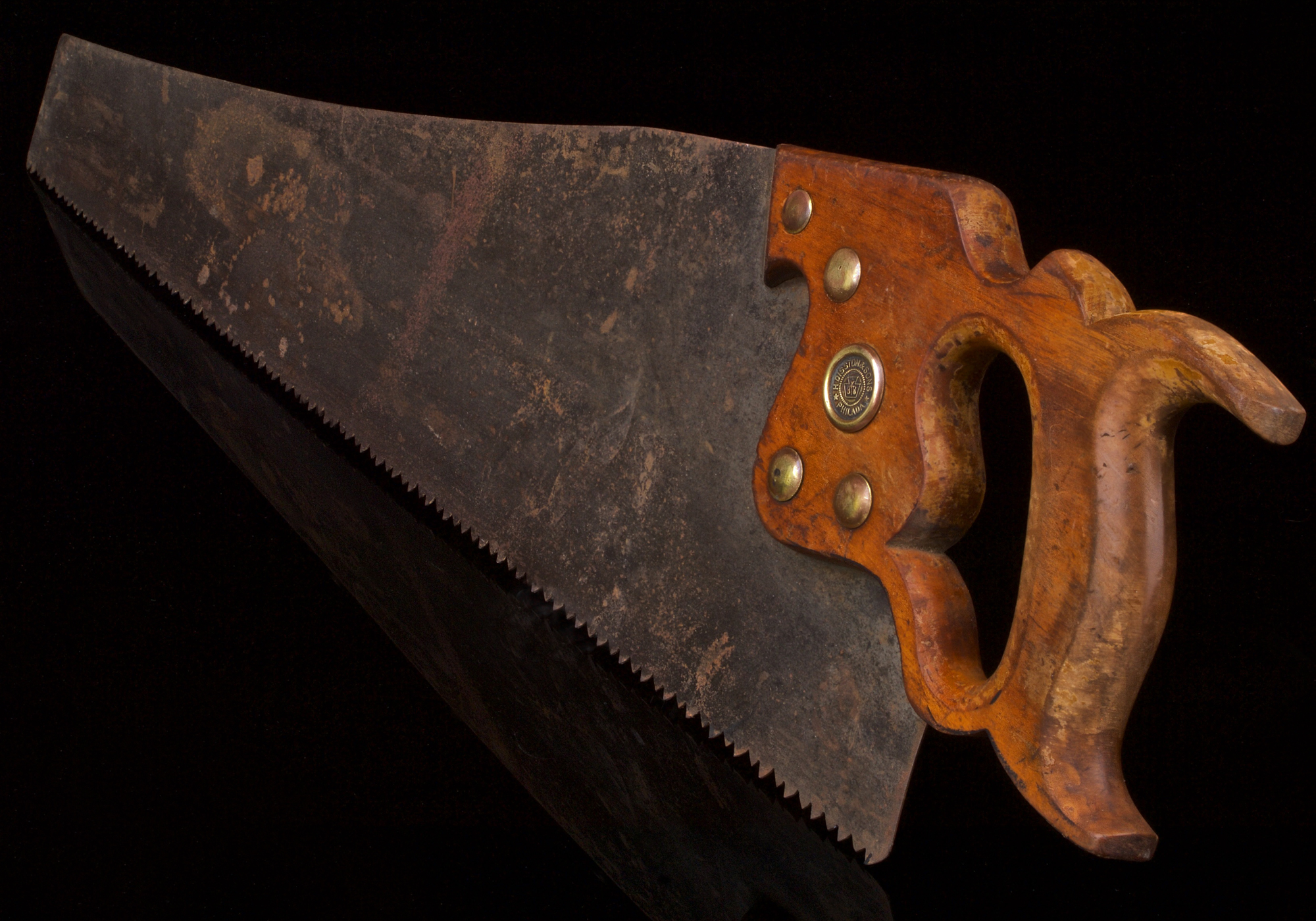16 inch, Henry Disston and Sons D-8 Panel Handsaw (Circa early 1920's)